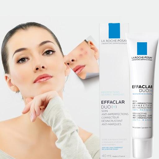 kem trị thâm mụn la Roche-Posay Effaclar Duo+ của Pháp