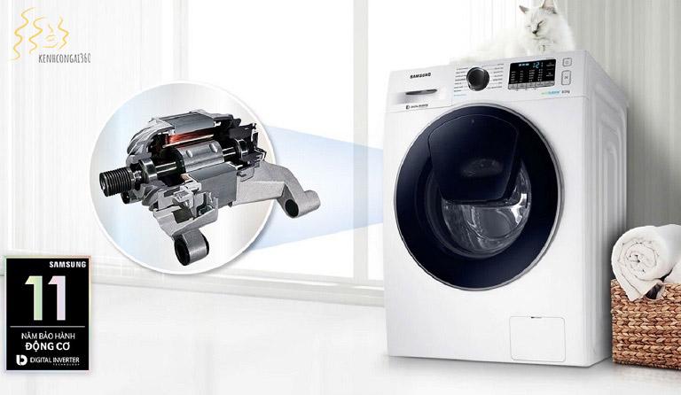 Máy giặt samsung có mẫu mẽ đa dạng, sang trọng